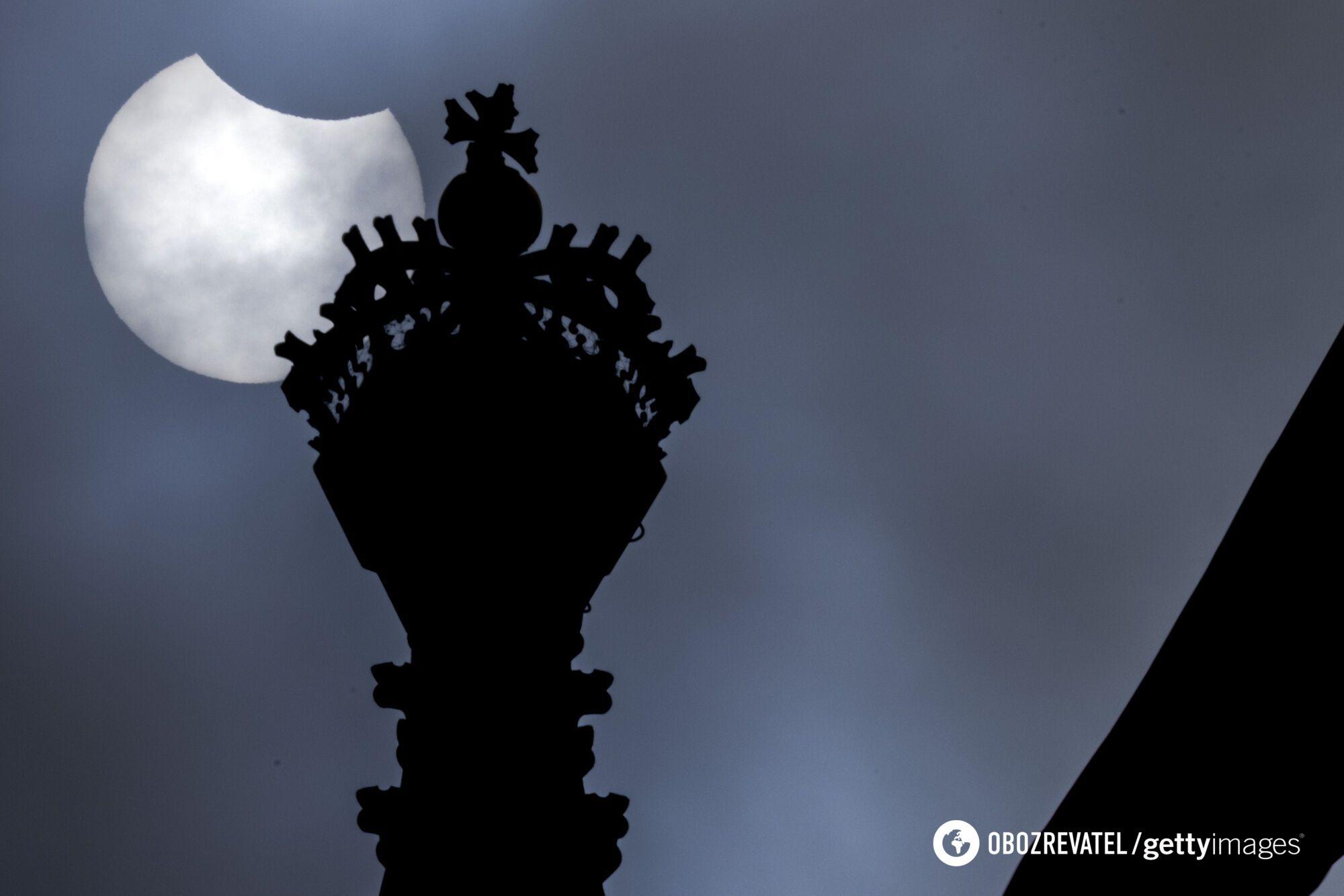 Сонячне затемнення в Британії
