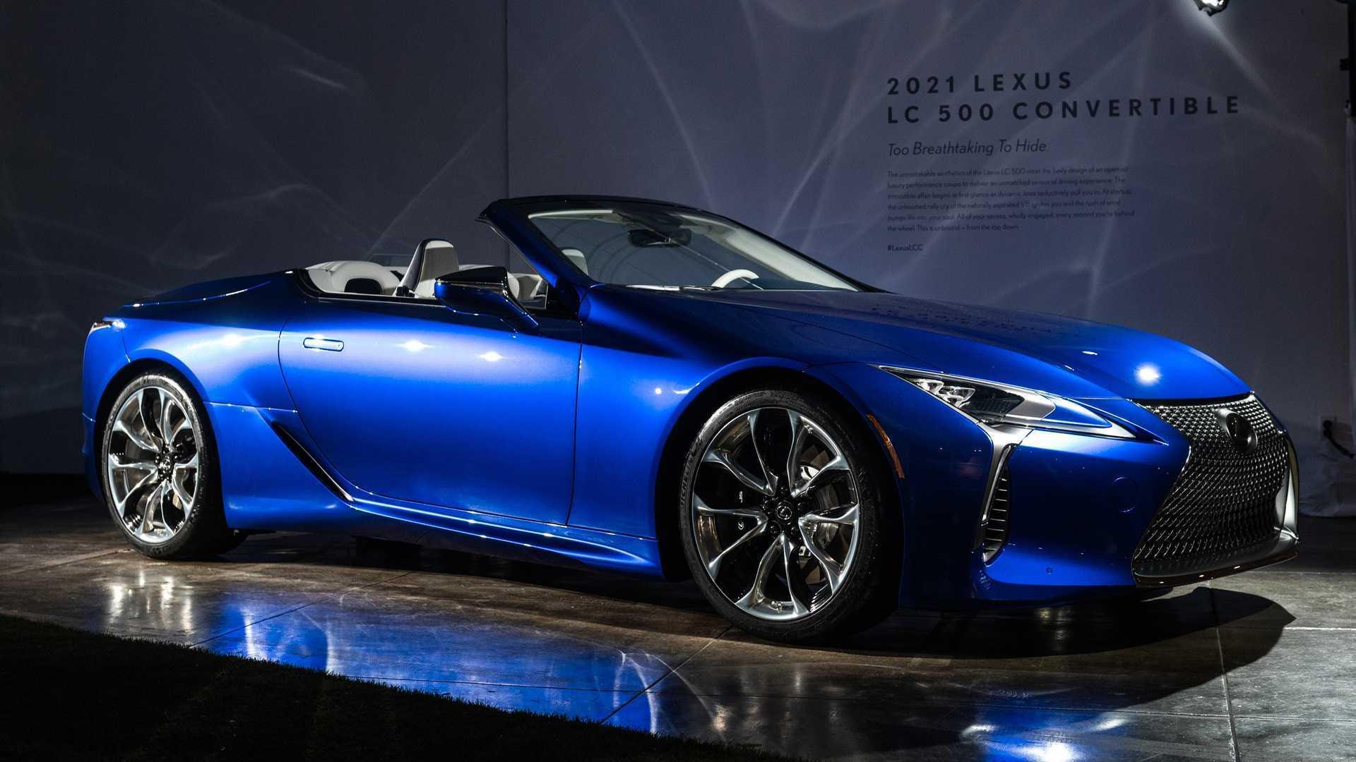 Lexus LC500 видає 471 кінську силу