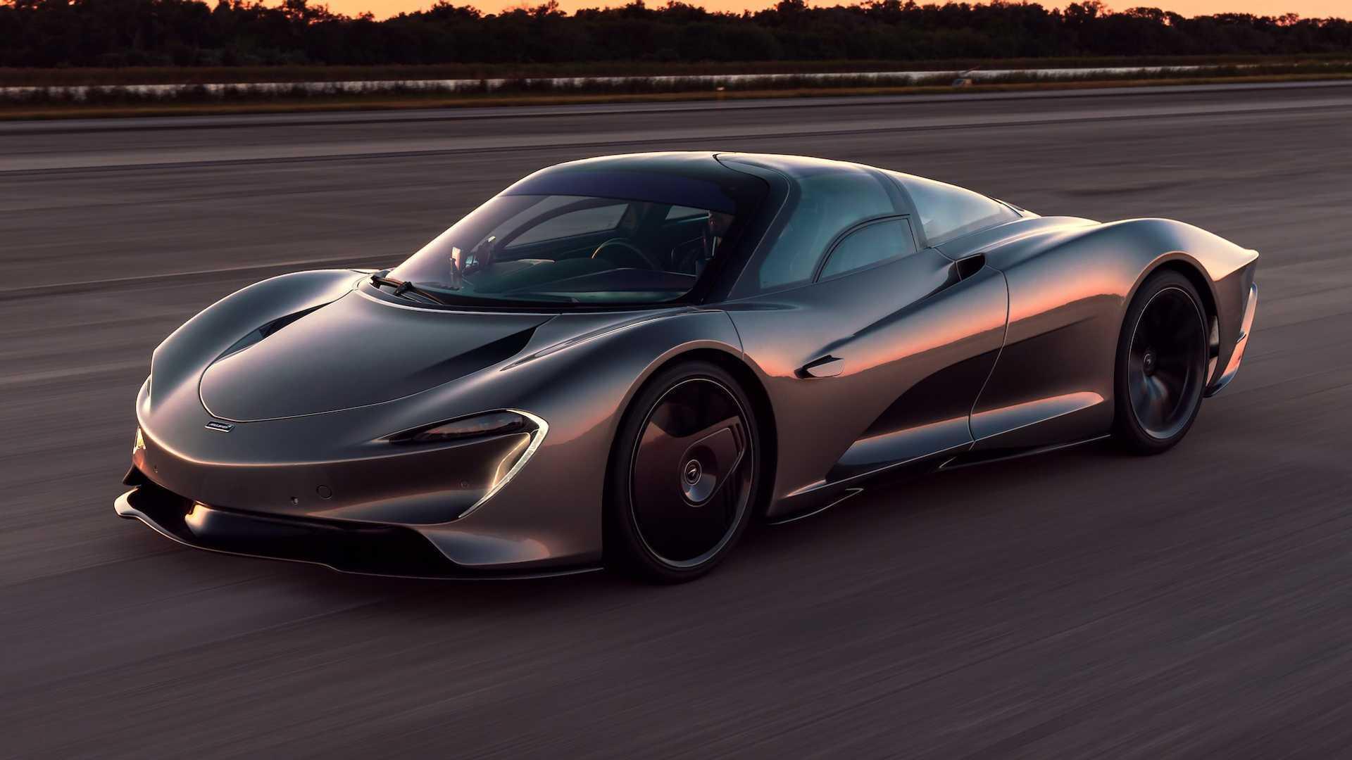Двигун V8 у McLaren Speedtail видає 1035 кінських сил