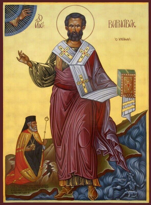 День святого Варнавы отмечается 11 июня
