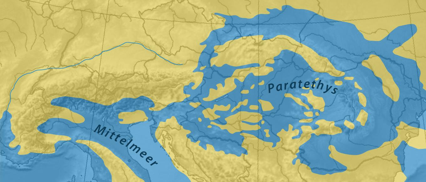 Паратетис прекратил свое существование около 6 миллионов лет назад