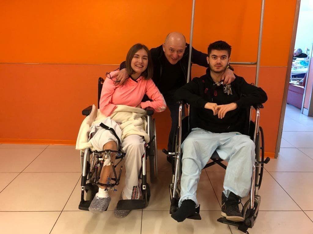 Пациенты профессора Эйдельмана из Болгарии