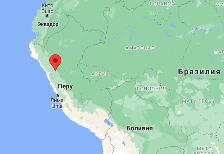 Авария произошла в провинции Патас в Перу.