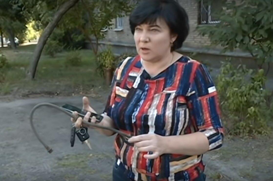 Бывшая теща Сытника – Галина С.
