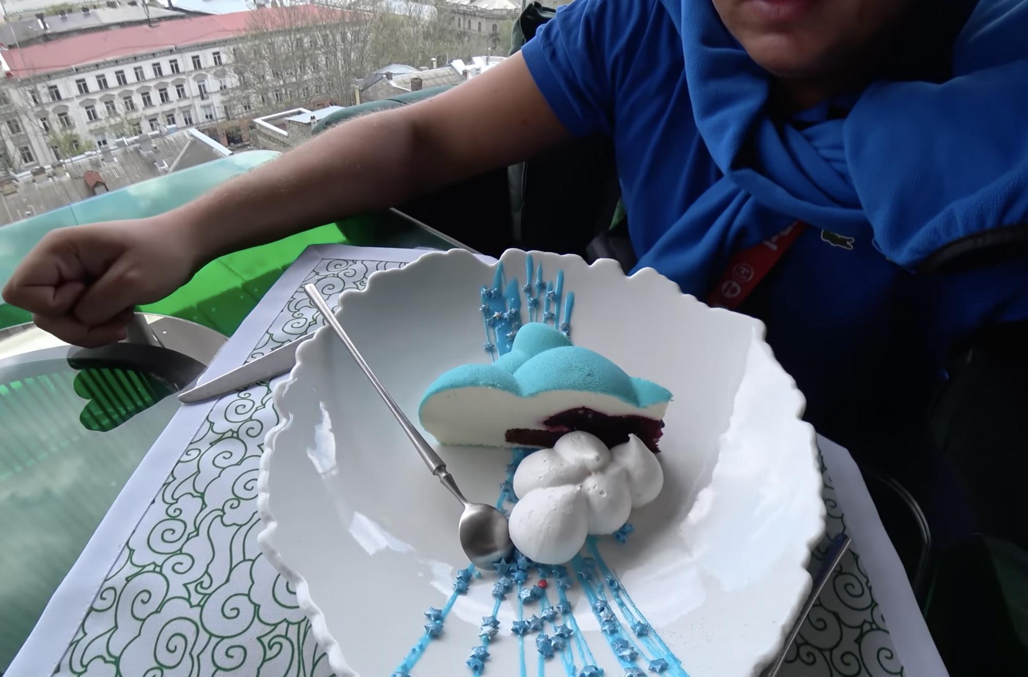 Десерт коштує 73 гривні