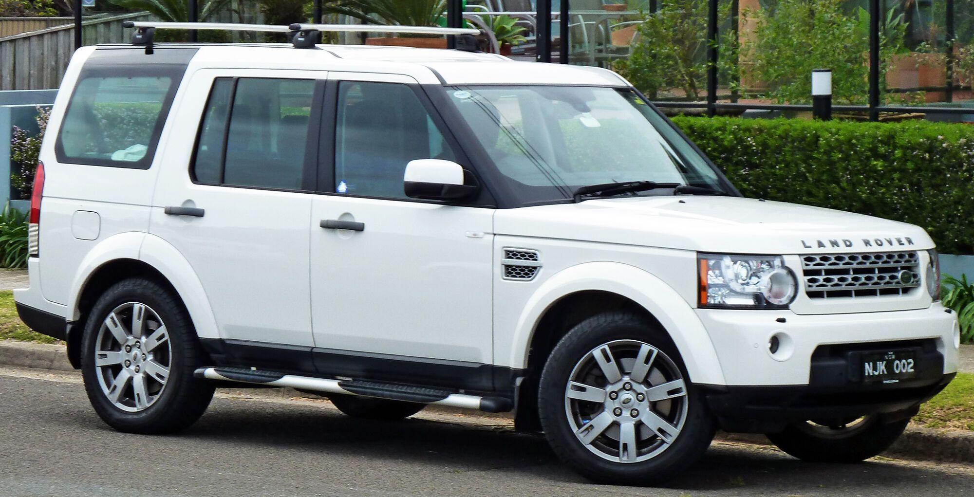 Land Rover из-за модели Discovery набрал в рейтинге надежности 66,3%