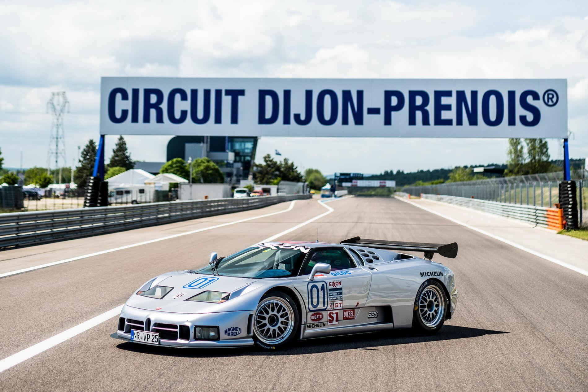Вперше за 25 років автомобіль знову виїхав на гоночний трек
