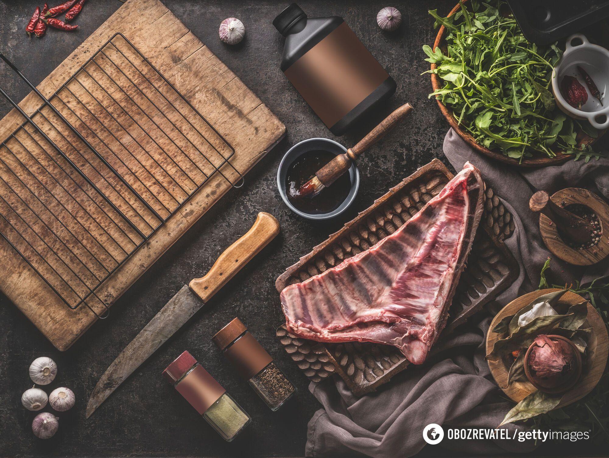 Для шашлику потрібно вибирати гарне м'ясо