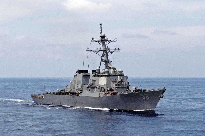 Ракетный эсминец США USS Laboon
