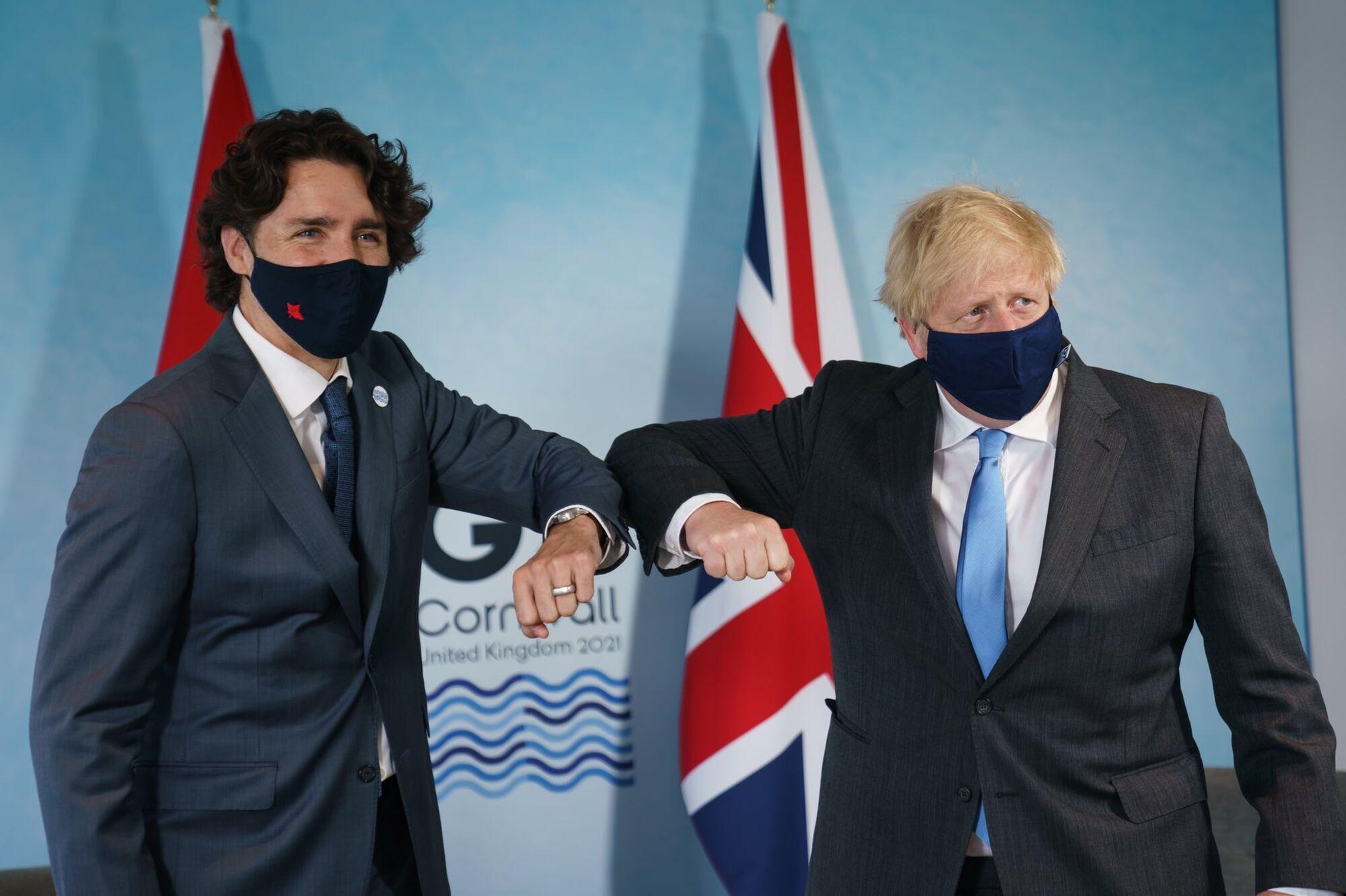 Прем'єр-міністри Канади і Великобританії