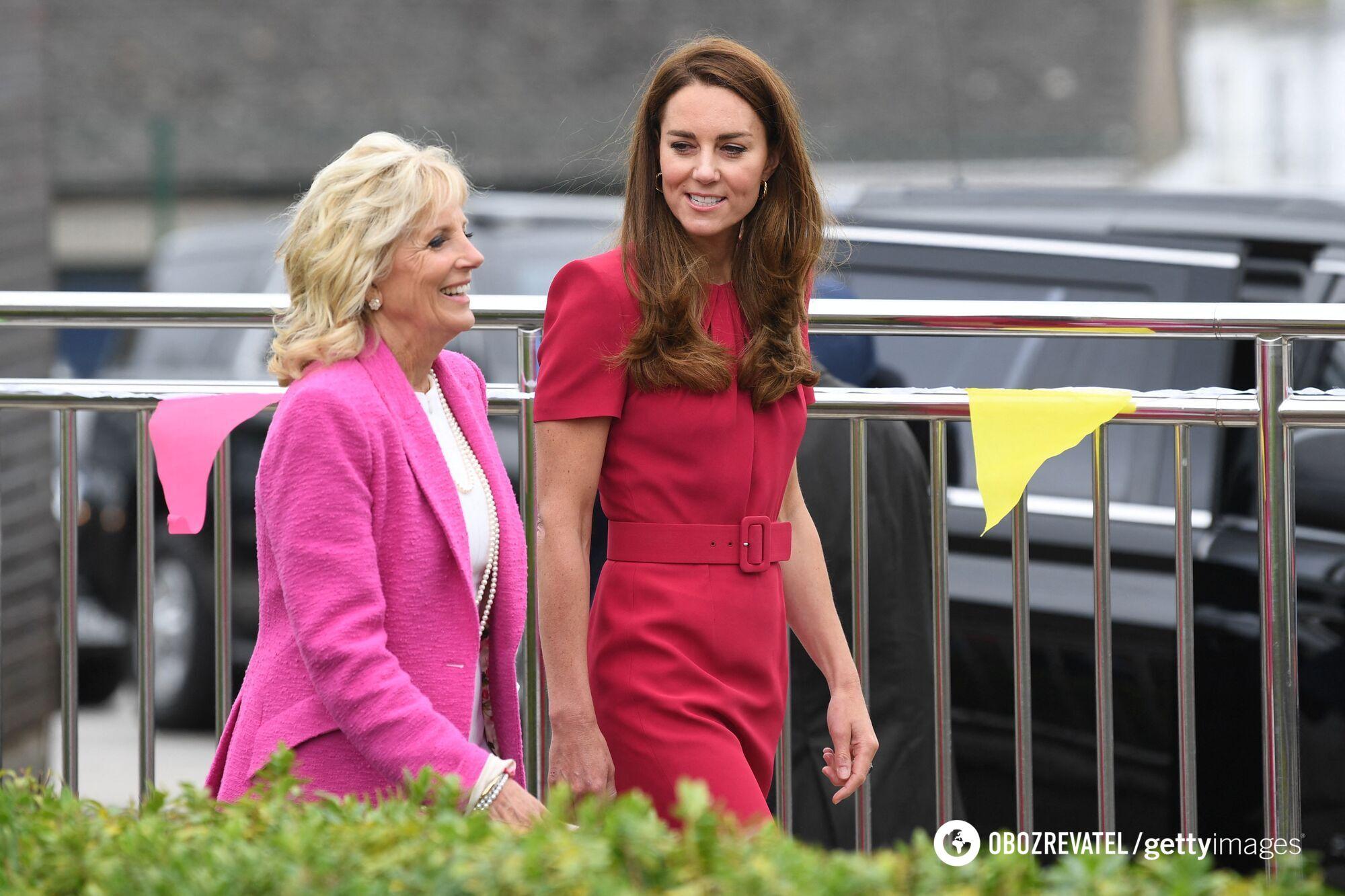Кейт Міддлтон і Джилл Байден зустрілися в Корнуоллі