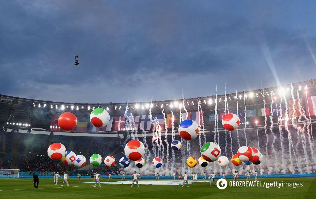Рим дал старт футбольному Евро-2020.