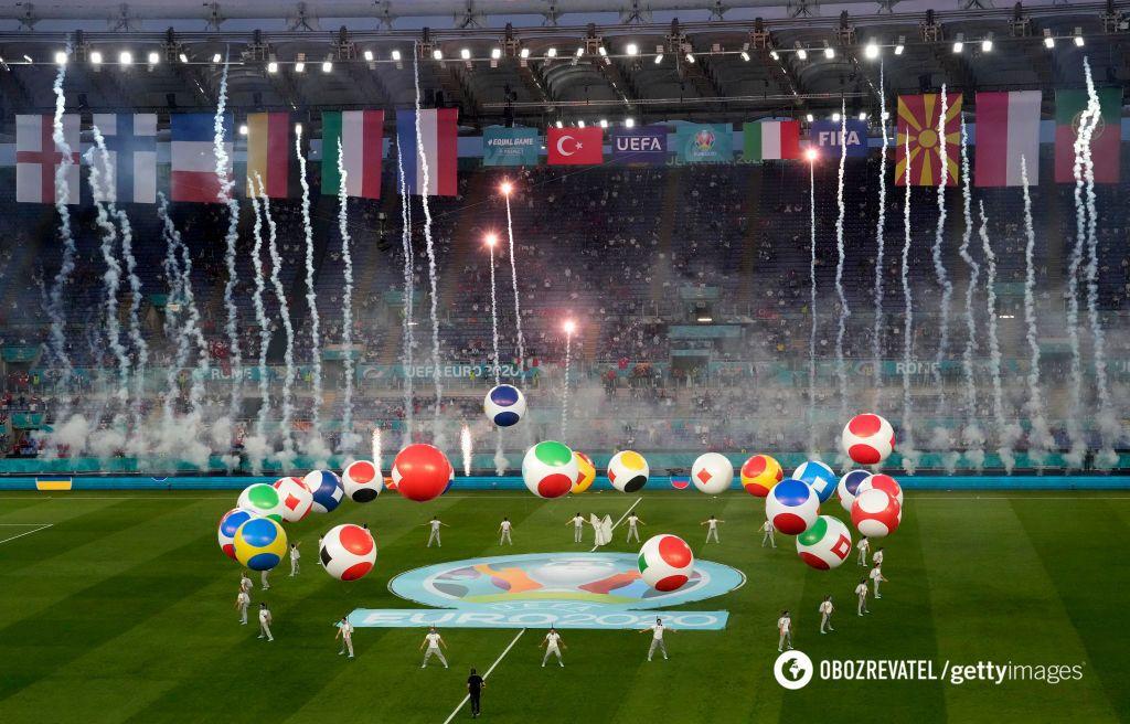 Евро-2020 начался матчем Италия - Турция.