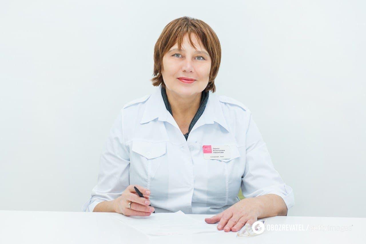 Лікарка-ендокринолог Лариса Ніфонтова
