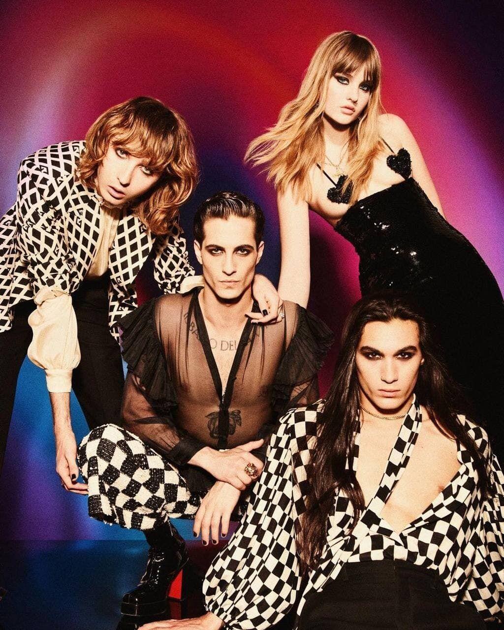 Победители Евровидения 2021 рок-группа Maneskin украсили обложку глянцевого журнала