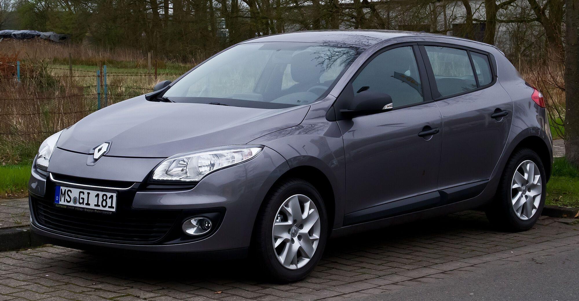 57% владельцев Renault Megane рассказали, что их авто ломалось