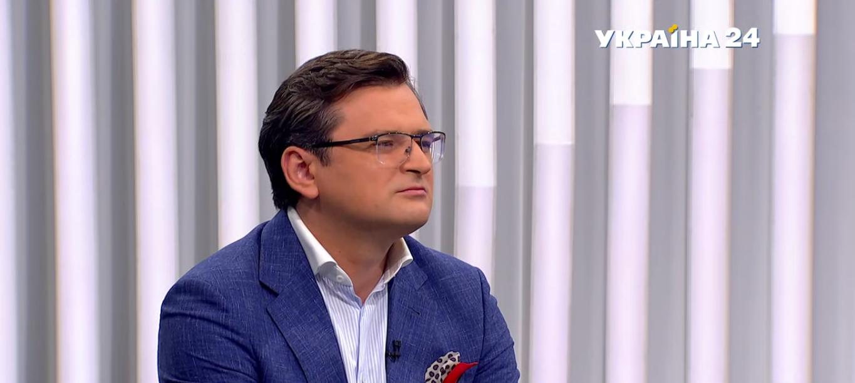 Кулеба в эфире украинского телеканала