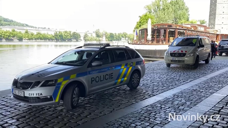 На месте инцидента работала полиция