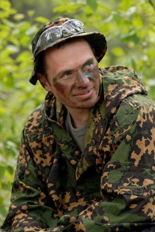 Принимал участие в АТО на востоке Украины.