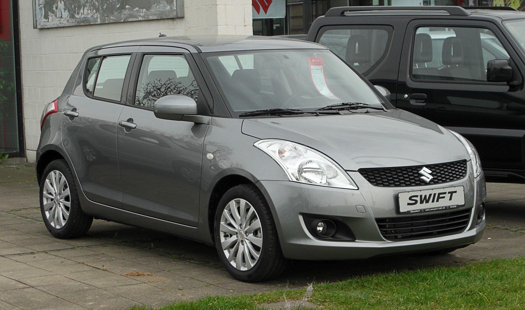 Suzuki Swift визнали одним з найнадійніших невеликих авто