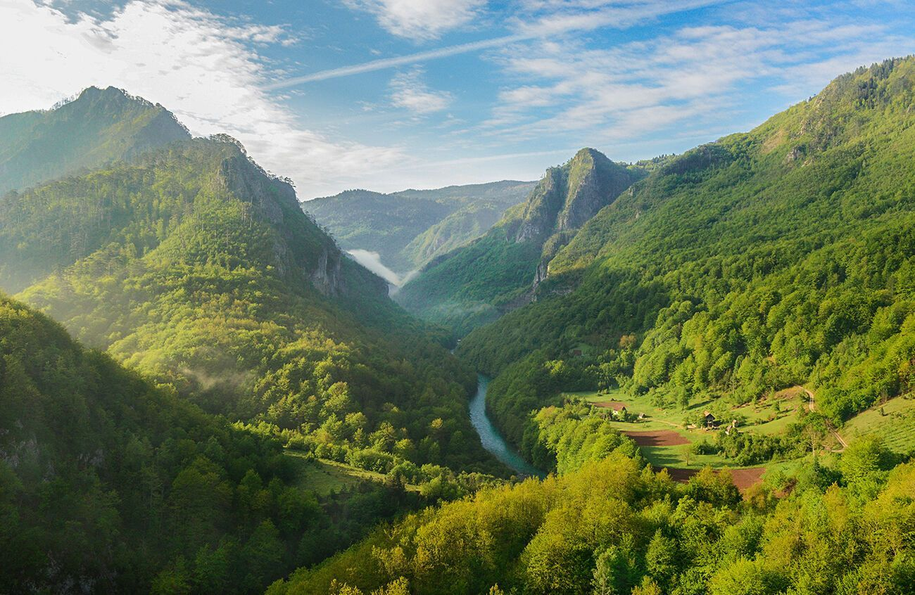 У Чорногорії розташований найглибший каньйон в Європі