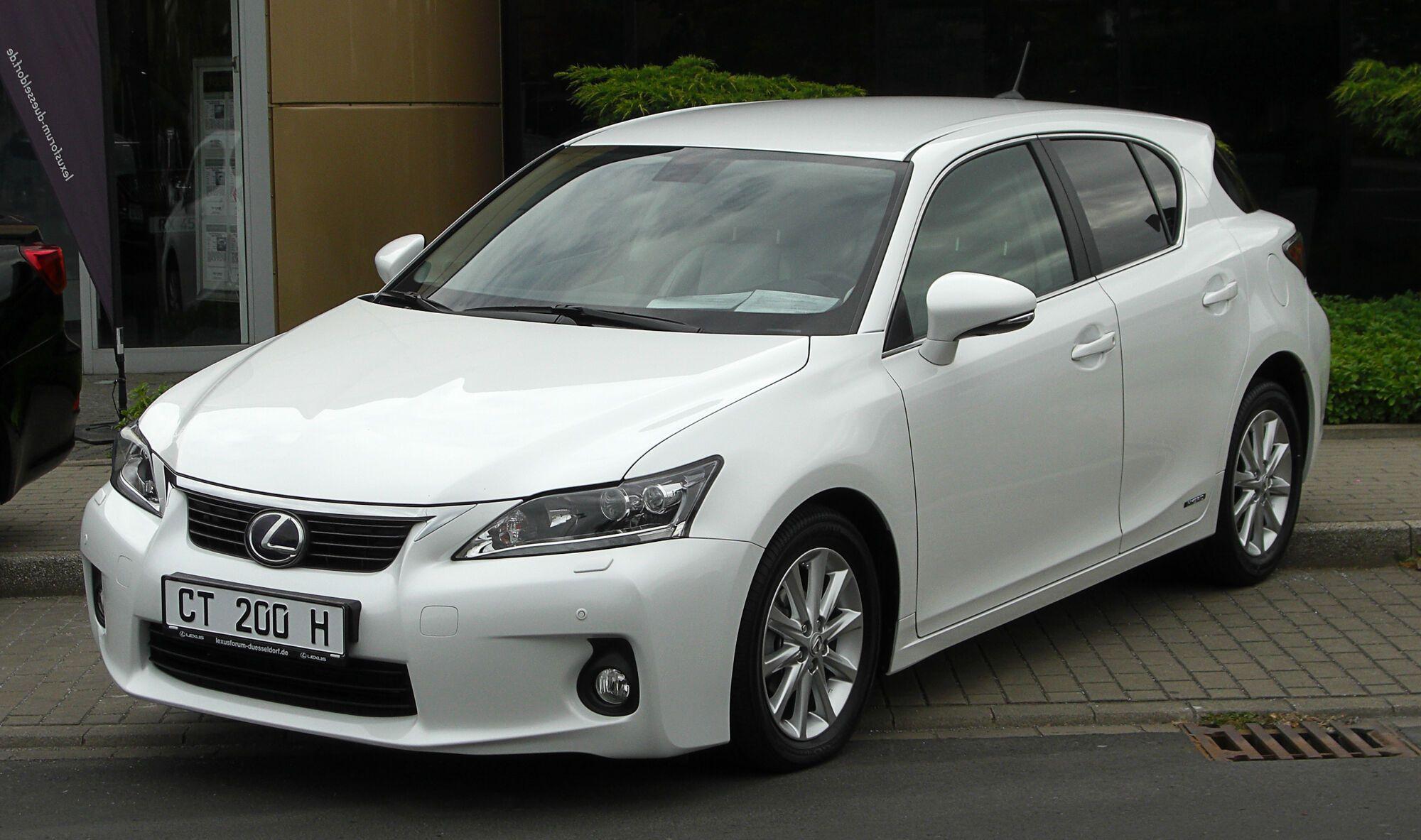 Lexus CT – друга найнадійніша модель серед електрокарів та гібридів