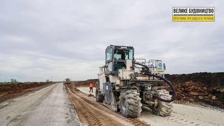 Работы ведутся на 8-километровом участке вблизи села Ольгополь