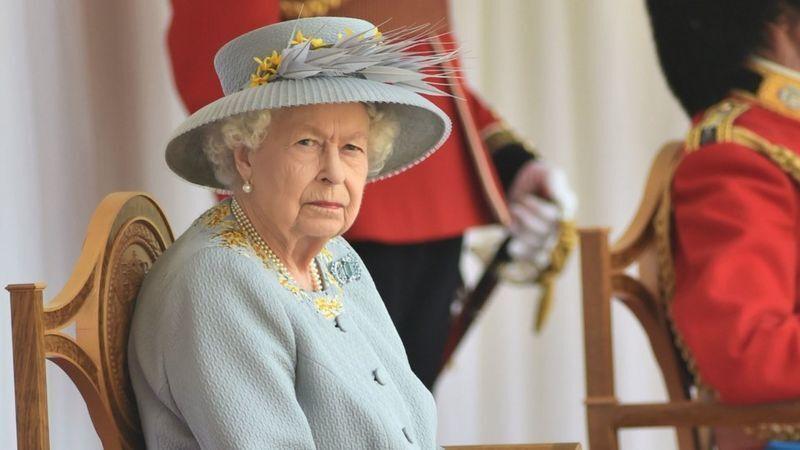 Єлизавета II на своєму дні народження.