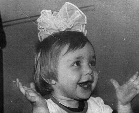 Как Кароль выглядела в детстве