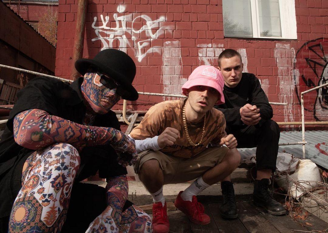 Украинская рэп-группа KALUSH