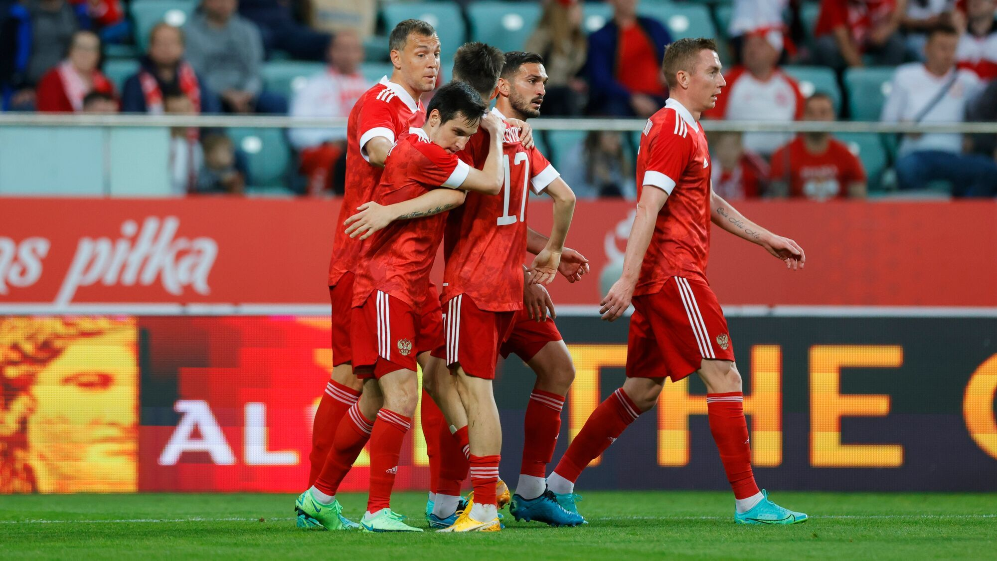 Россияне ни разу не выигрывали у бельгийцев