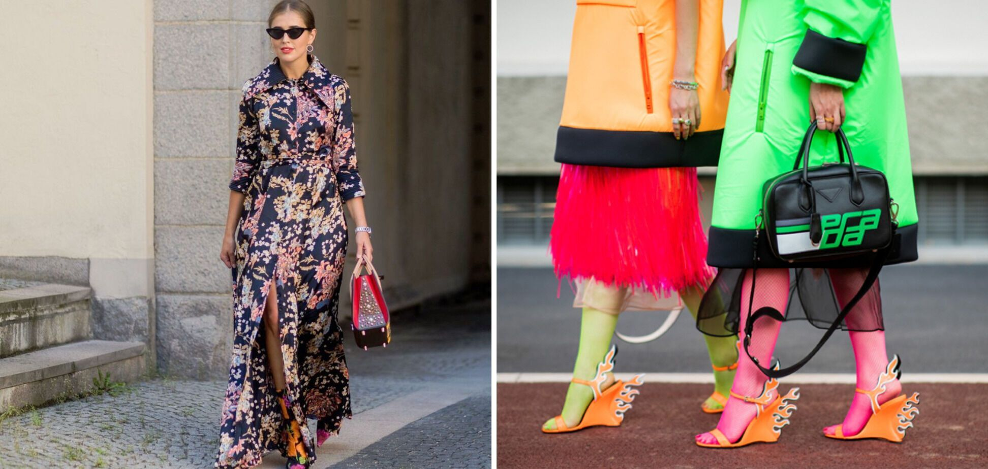 Женщинам за 40 лет нужно отказаться от неоновых цветов в одежде и крупного принта