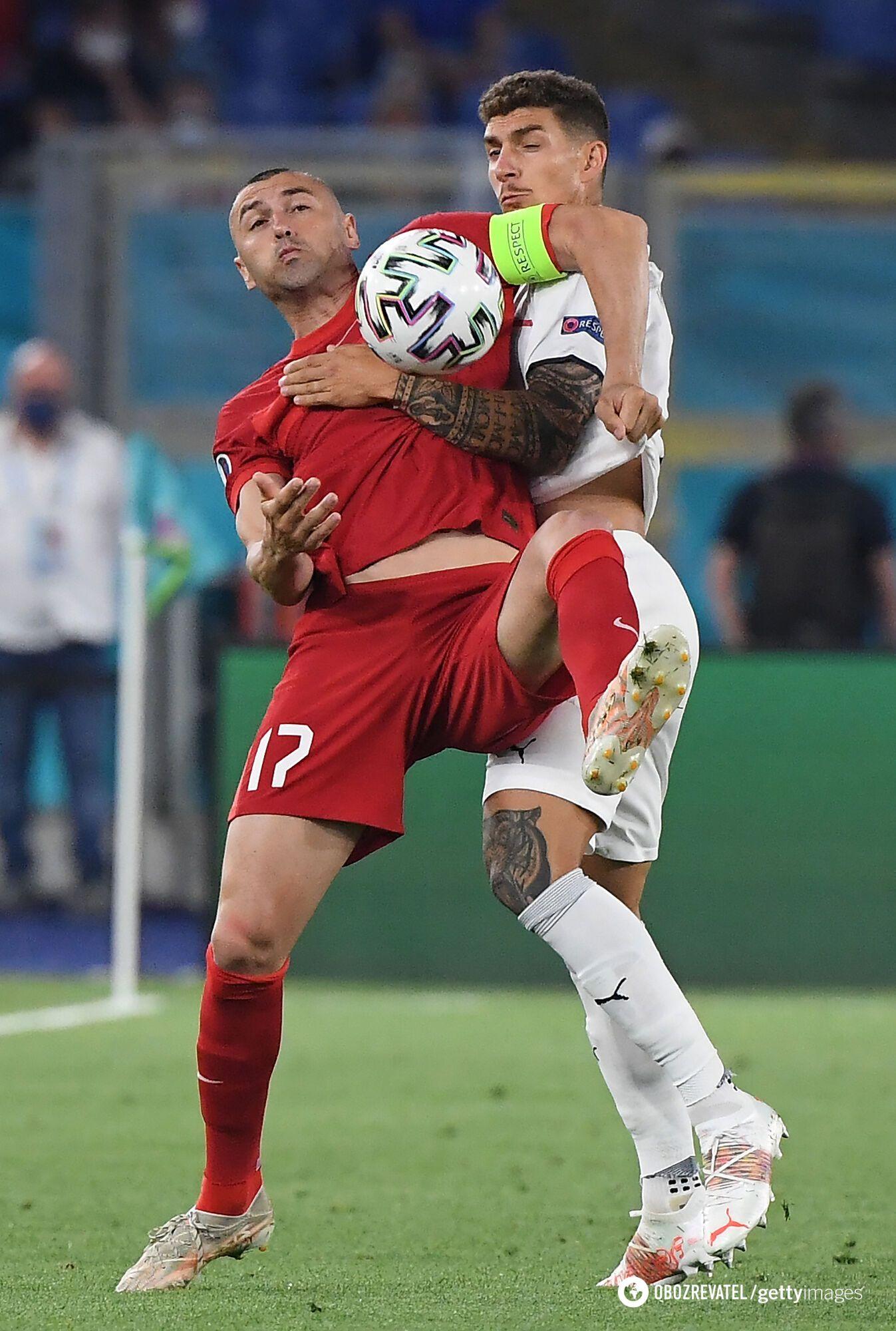 Италия стартовала с победы на Турцией