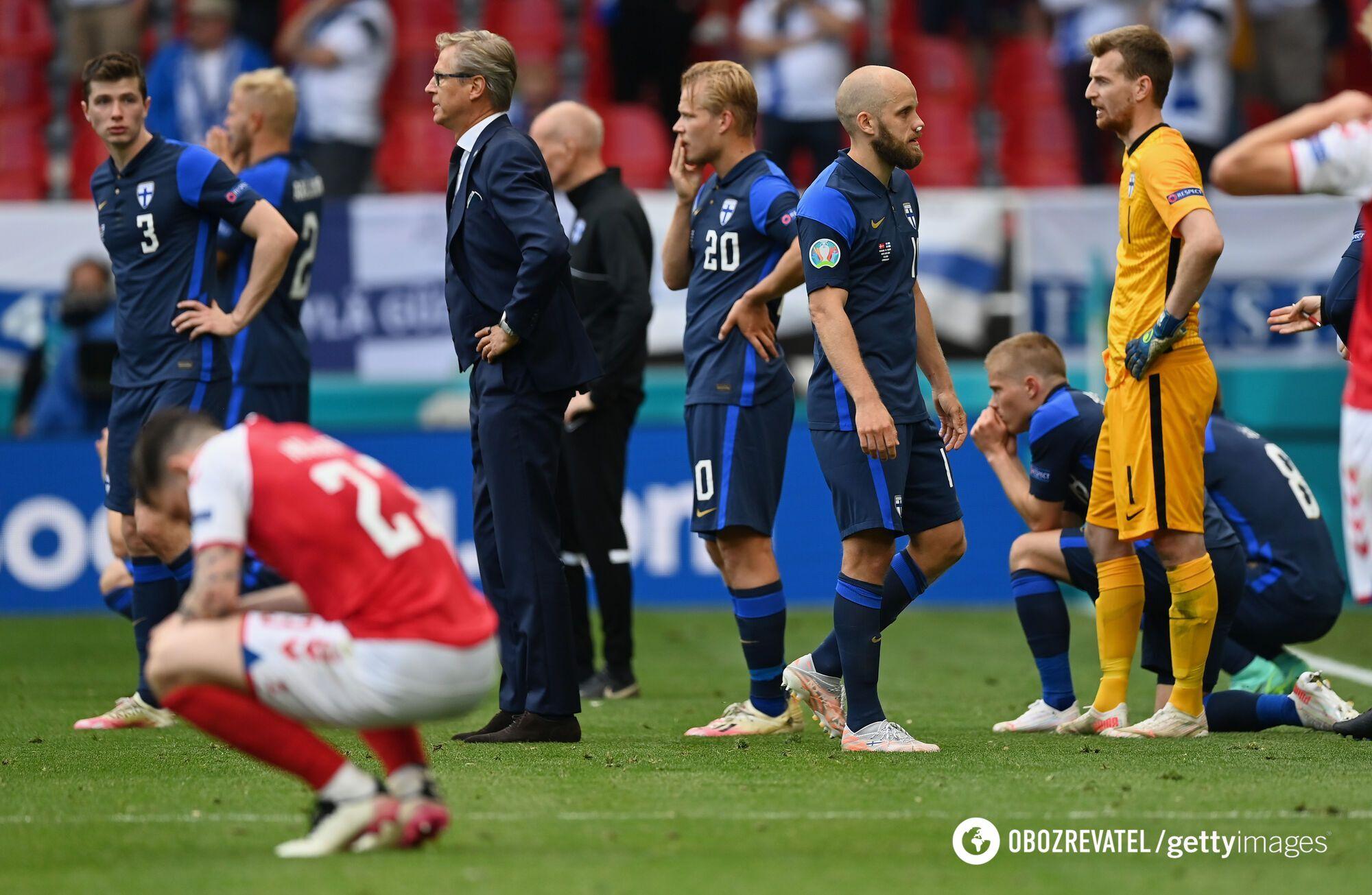 Футболисты были в шоке от случившегося