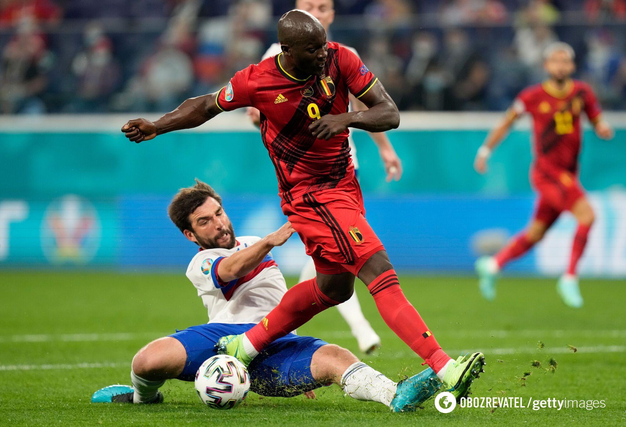 Матч Бельгія – Росія.