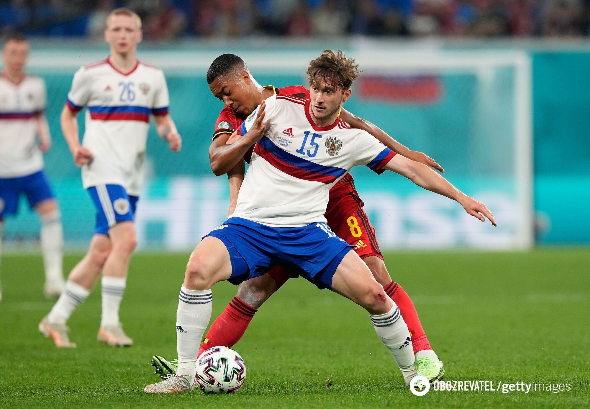 Росіяни не змогли взяти очки в матчі з Бельгією.