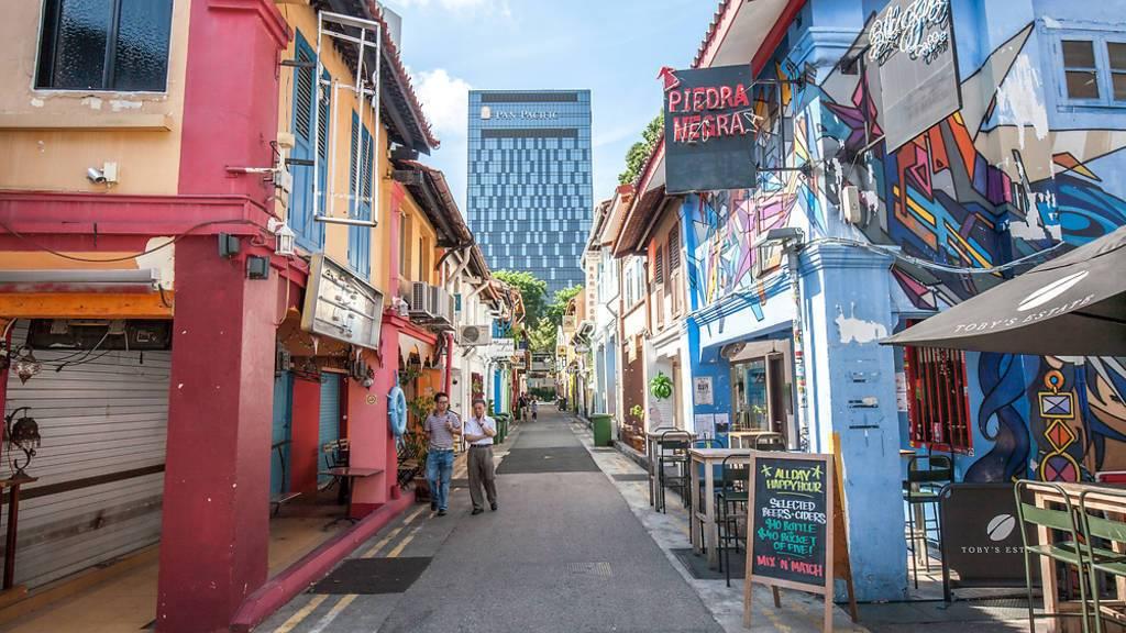 Гаджи Лейн, Сингапур