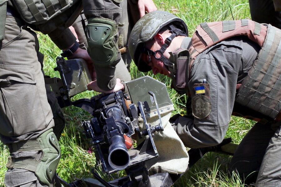 Збори нацгвардійців-кулеметників.