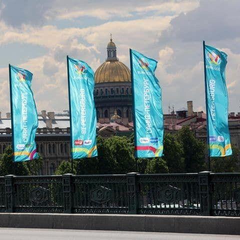 Санкт-Петербург готов к матчу.