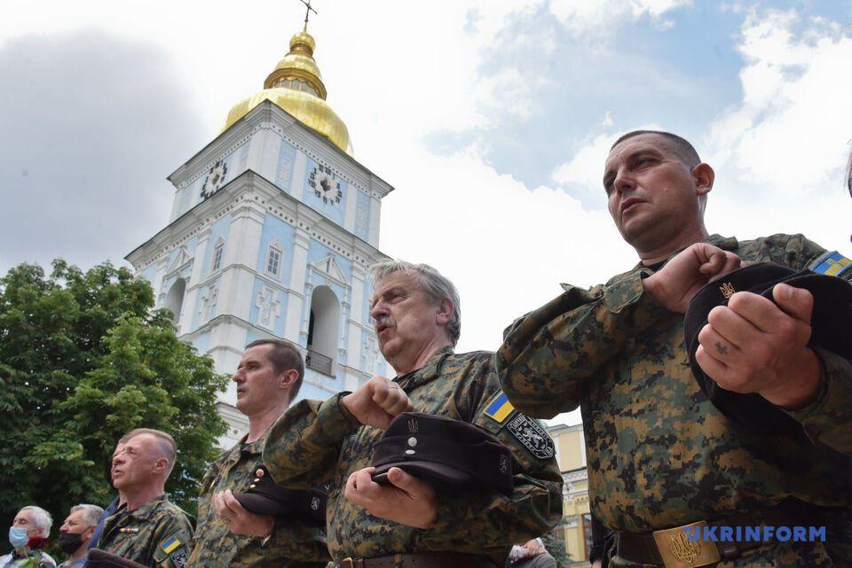 В Киеве в Михайловском Златоверхом соборе попрощались с Орестом Васкулом