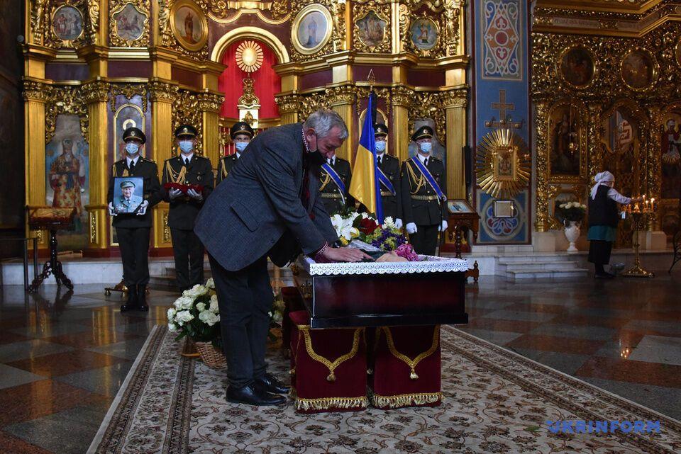 Церемония прощания с Васкулой состоялась в Киеве
