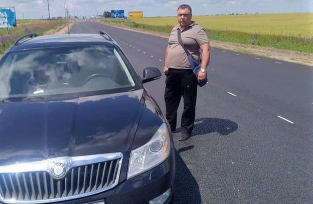 Павло Заєць – старший інспектор з особливих доручень УОАЗОР ГУНП в Дніпропетровській області
