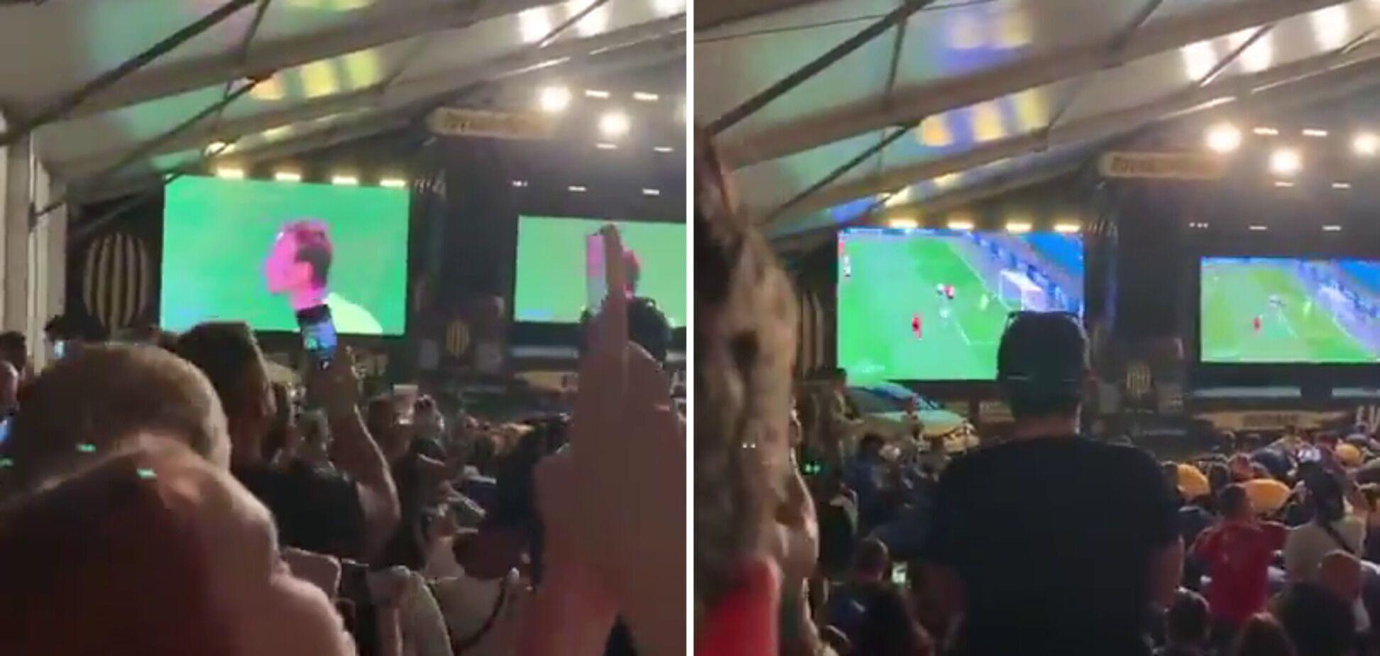 Львовские фанаты