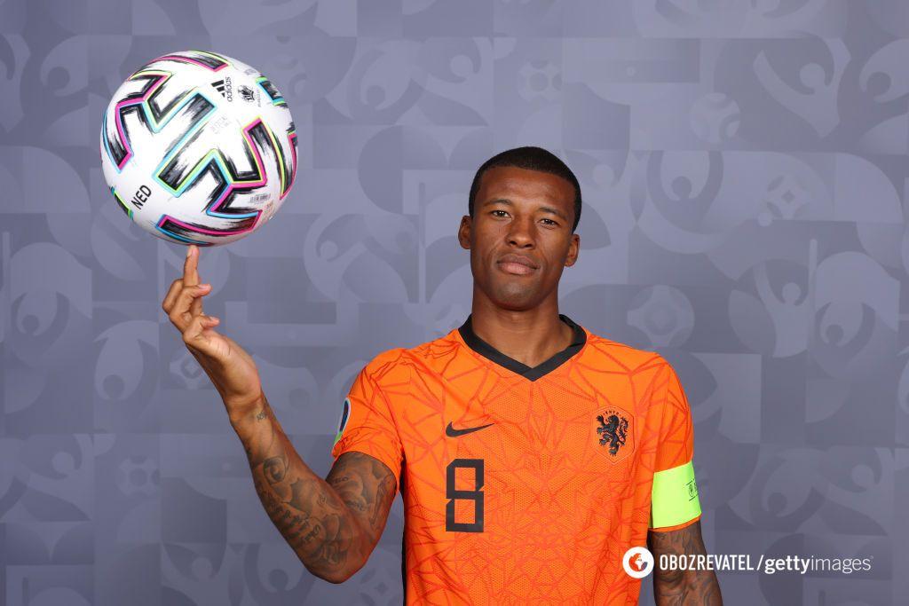 Джорджиньо Вейналдум – один из ключевых игроков сборной Нидерландов