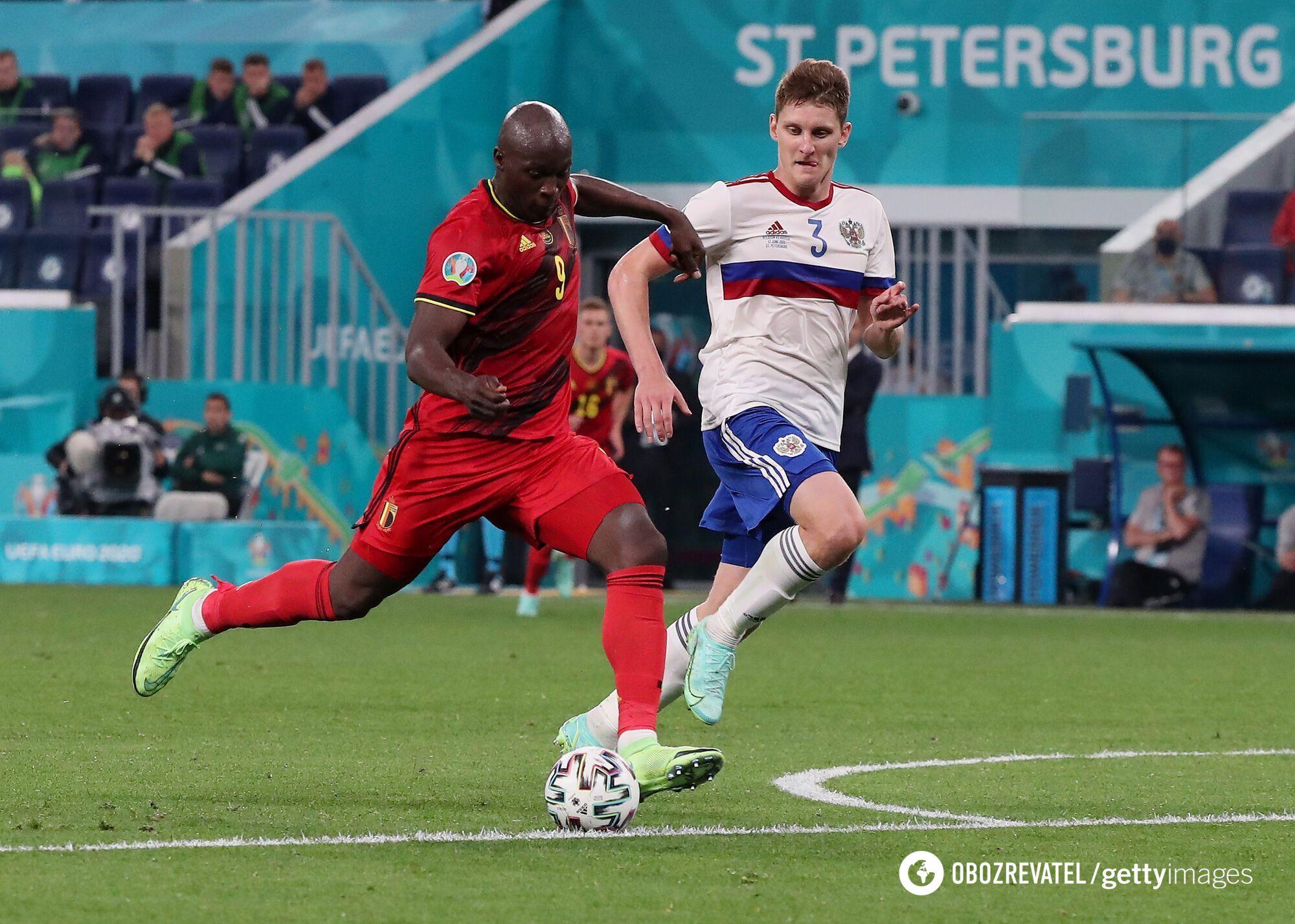Россия проиграла Бельгии на старте Евро