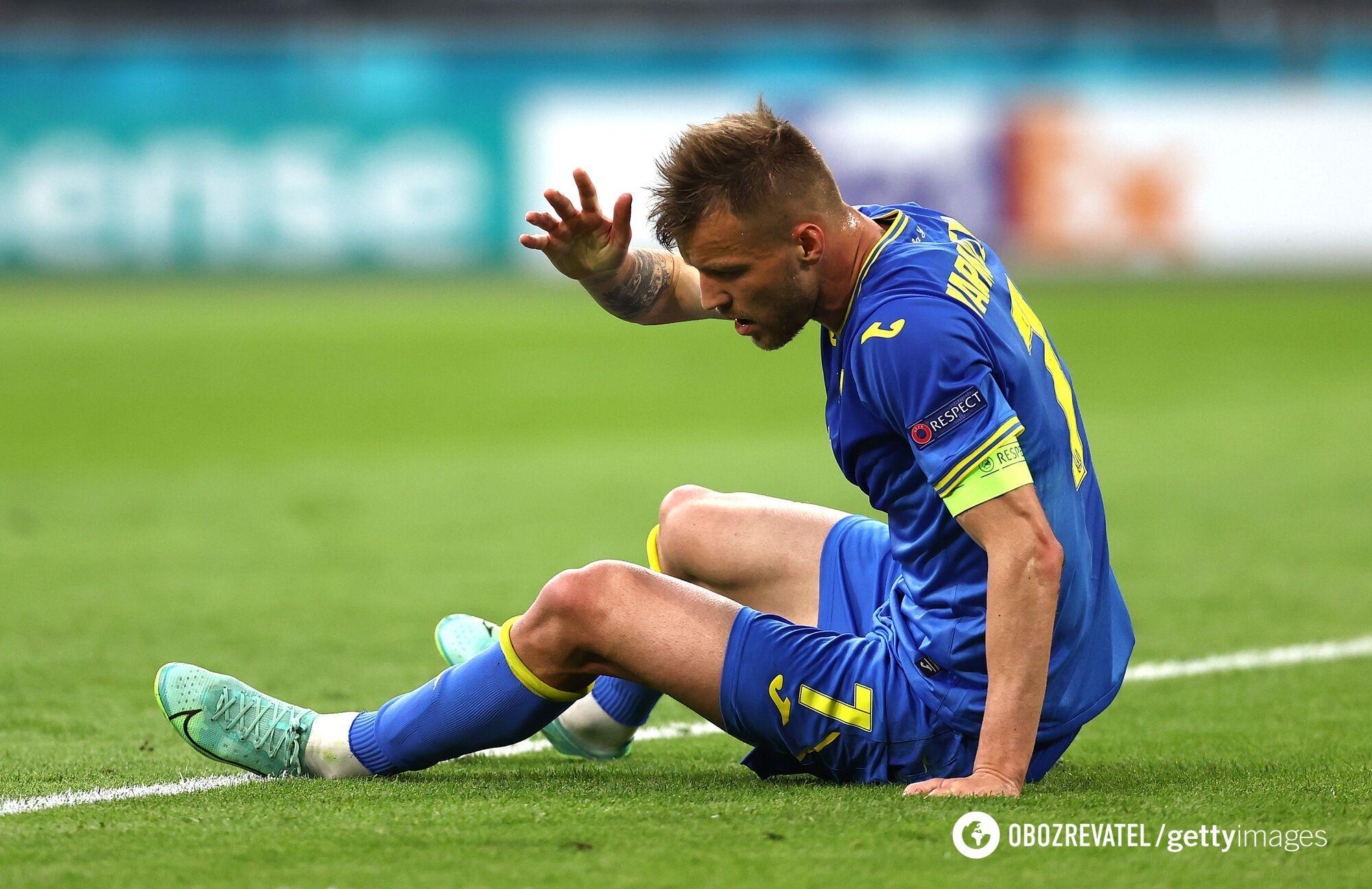 Андрей Ярмоленко был одним из лучших на поле
