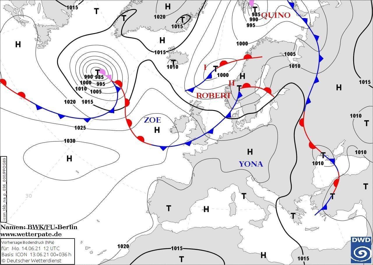 На Украину снова нагрянут кратковременные дожди с грозами