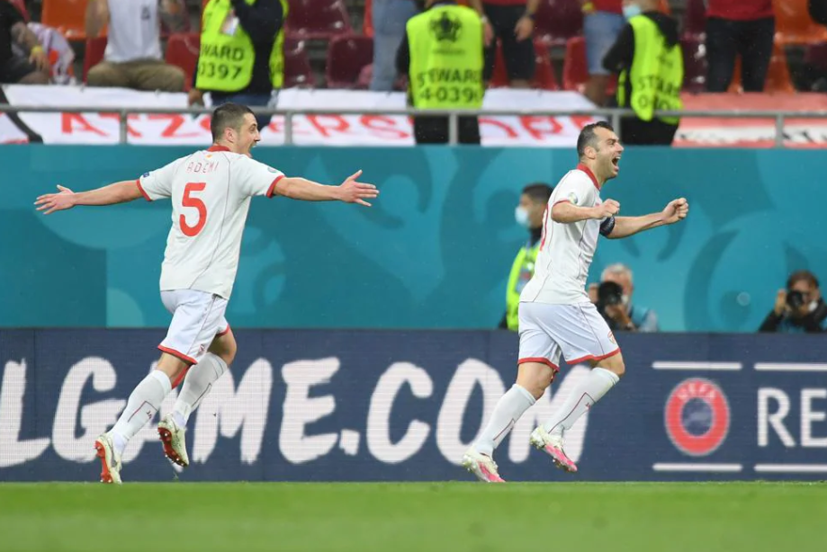 Пандев забил первый гол Северной Македонии на чемпионате Европы