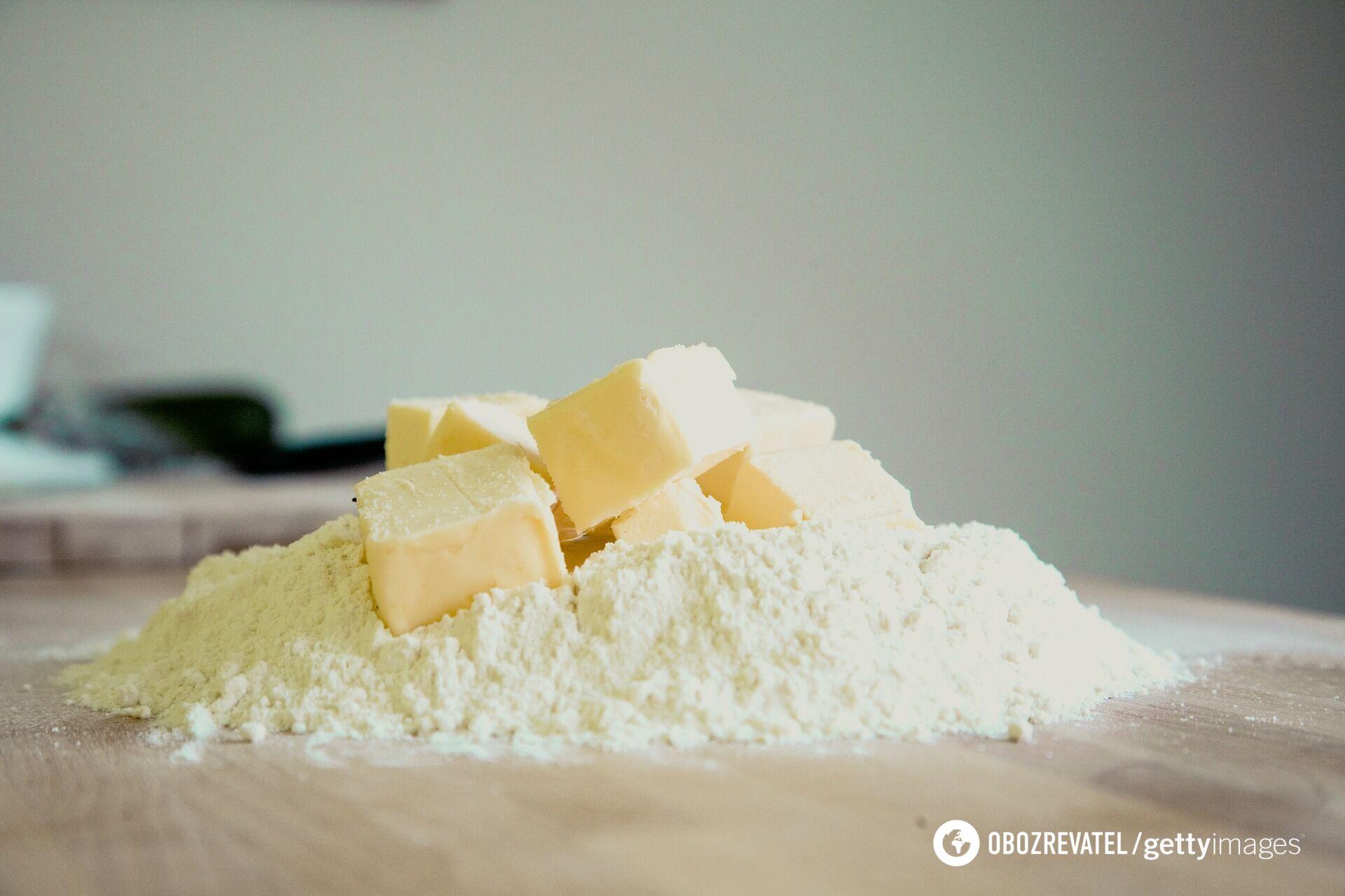 Масло сделает вкус теста нежным