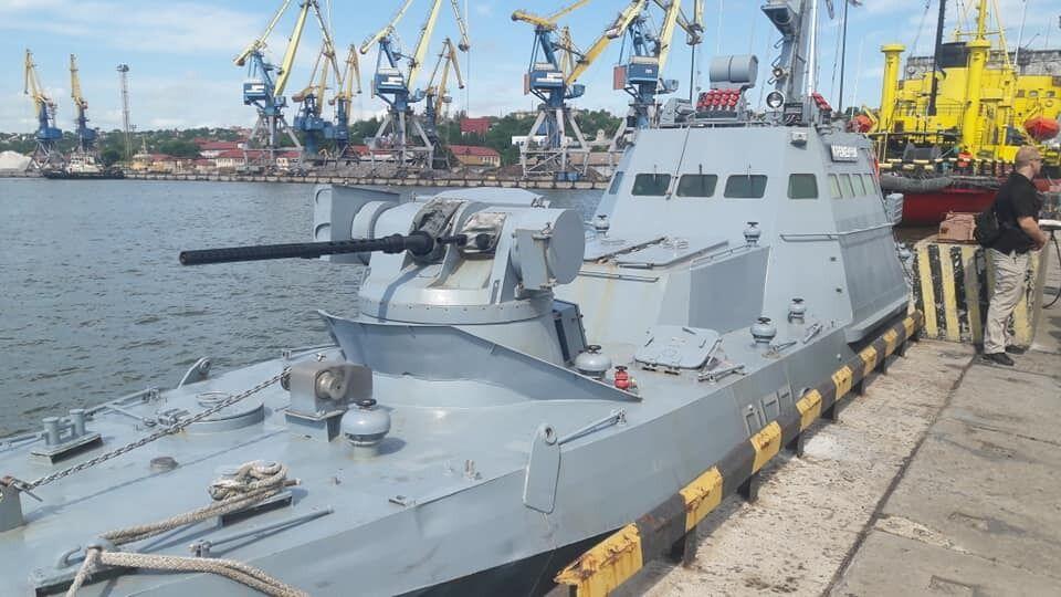Делегацию ОБСЕ встретили в Мариупольском морском торговом порту